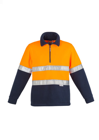 ZT461 - Mens Hi Vis Fleece Jumper - Hoop Taped Syzmik