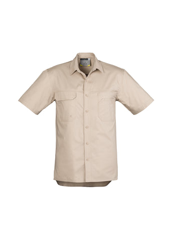 ZW120 - Mens Light Weight Tradie S/S Shirt  Syzmik