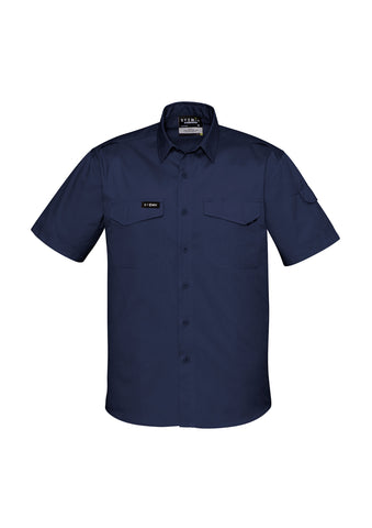 ZW405 - Mens Rugged Cooling Mens S/S Shirt Syzmik