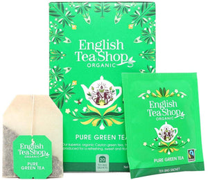 Té verde de la casa English Tea Shop