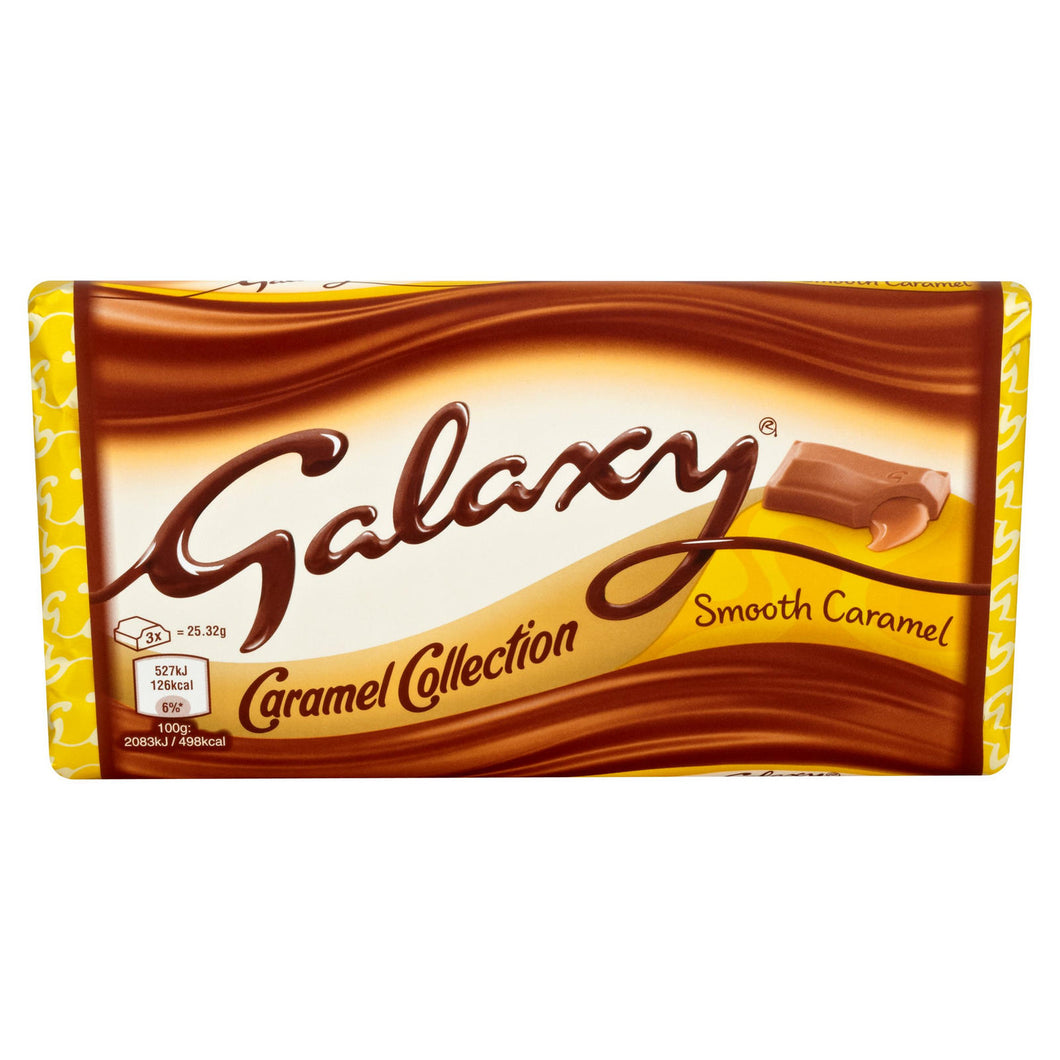 Chocolate Galaxy relleno de caramelo