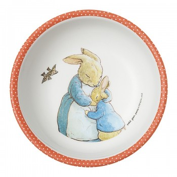 Bowl de Peter Rabbit en color coral