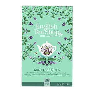 Té verde con menta de la casa English Shop