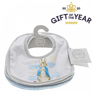 Set de 3 baberos Peter Rabbit