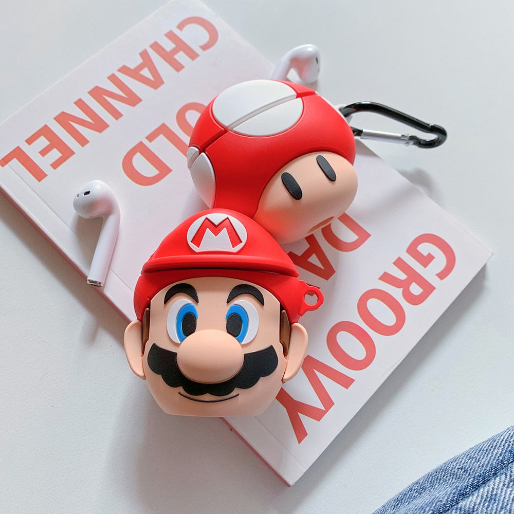 3D Airpods Case-Mario Style