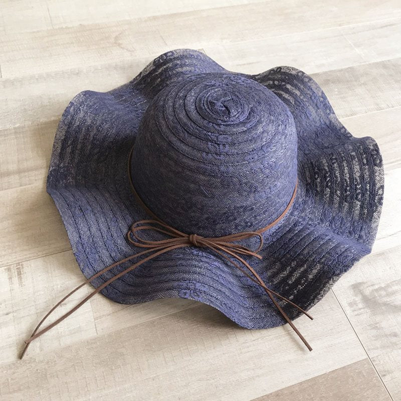 Sun Hat Korean Bowknot Summer Hats