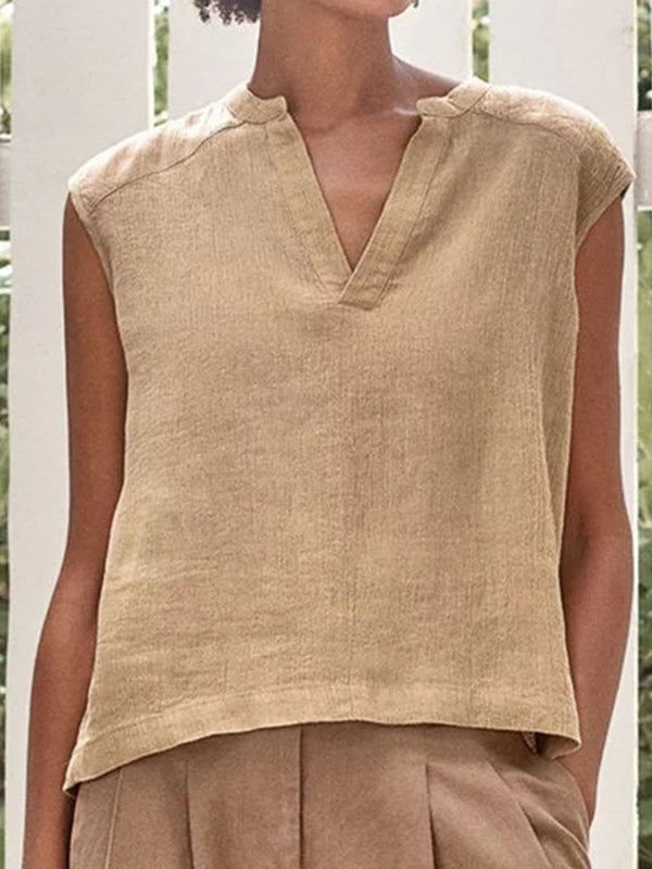 I-Shaped Polyester Standard Tank Top
