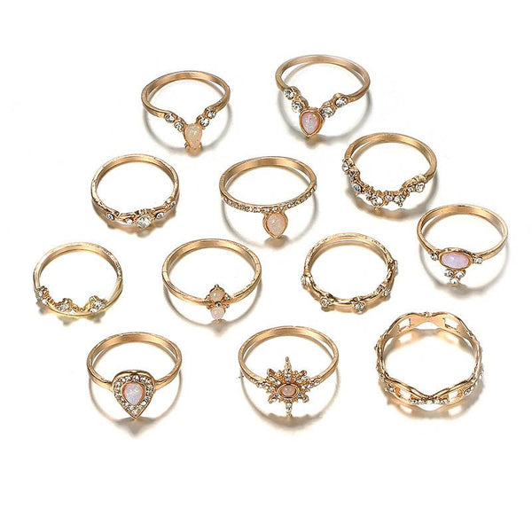E-Plating Vintage Alloy Gift Rings