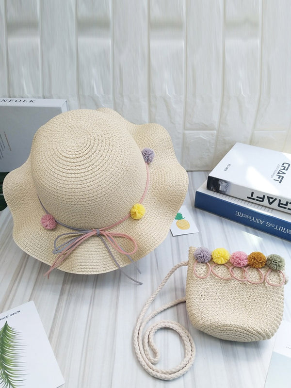 Bowknot Casual Summer Hats