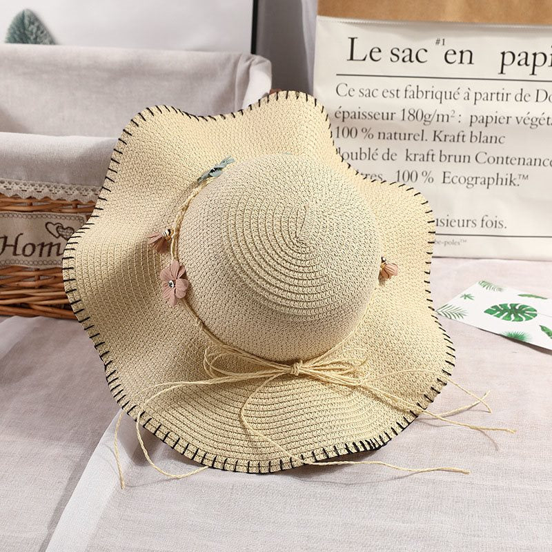Sun Hat Straw Plaited Article Summer Hats