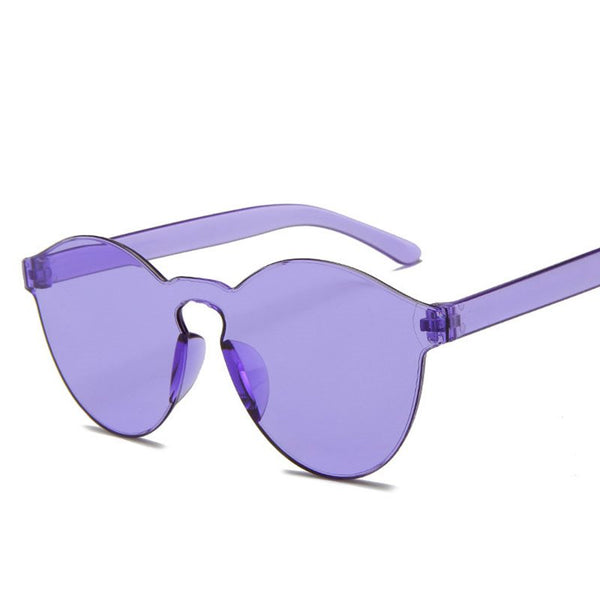 Poly Carbonate Fashion Cat Eye Sunglasses