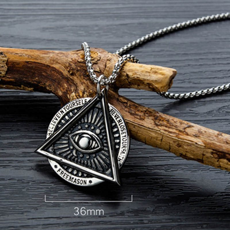 European E-Plating Pendant Necklace Male Necklaces