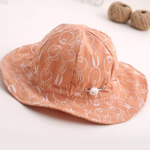 Casual Cotton Bucket Hat Polka Dots Hats