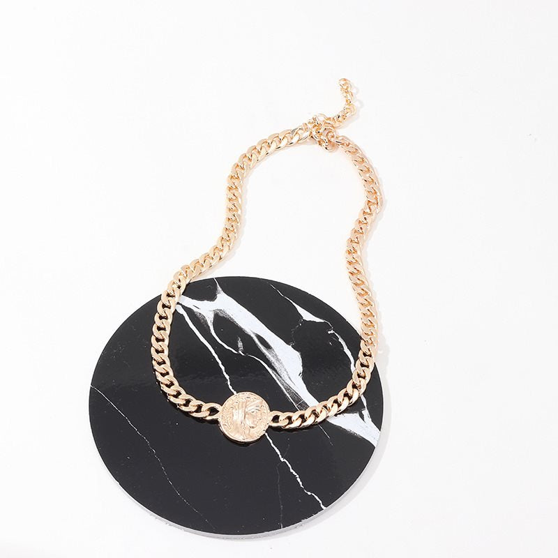 Choker Necklace E-Plating European Female Necklaces