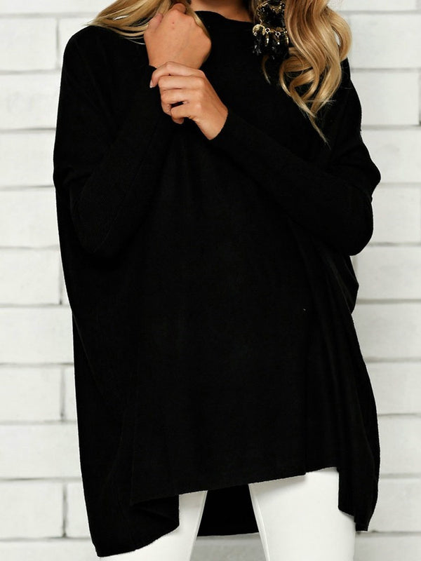 Regular Mid-Length Long Sleeve Sweater