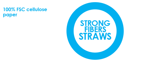 OSTONE SECOND SOLUTION STRAW OF SUPER RESISTANT CELLULOSE FIBERS - A SUPER-RESISTANT PAPER STRAW