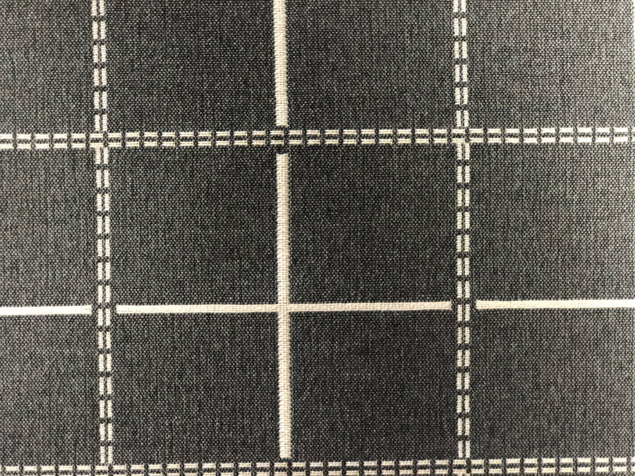 Discount Upholstery Fabric - Calculus Charcoal 7.9 yards