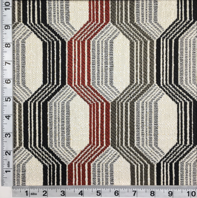 Discount Upholstery Fabric - Kiss N Tell Red