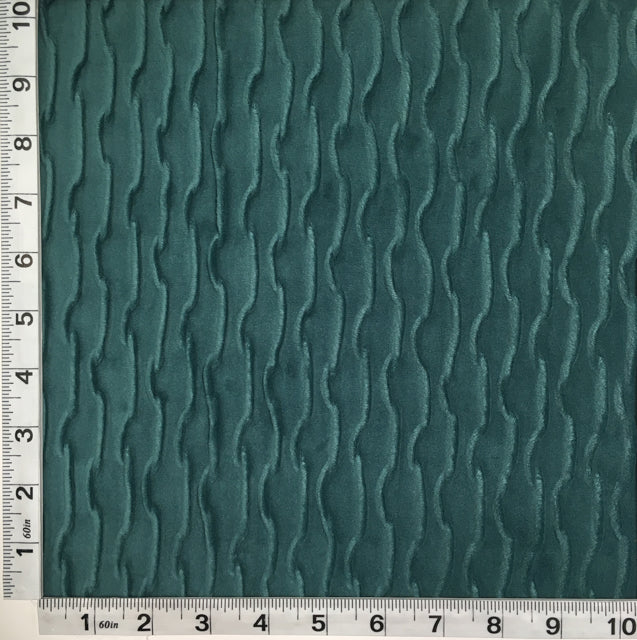 Discount Upholstery Fabric | Ripple Aqua