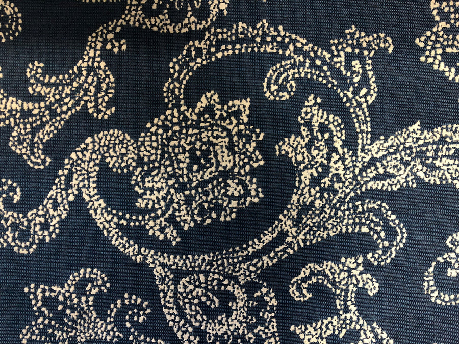 Discount Upholstery Fabric - Thailand Denim 7.5 yards