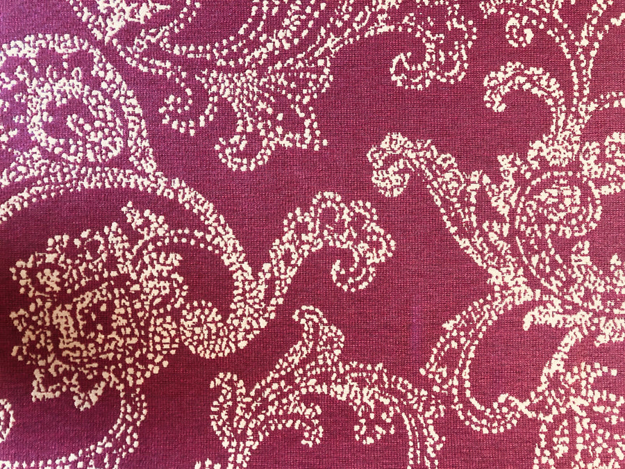 Discount Upholstery Fabric - Thailand Merlot