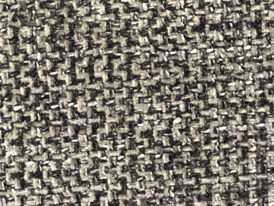 Discount Upholstery Fabric - Tweed Charcoal 4.5 yards