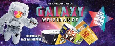 It's Finally Here! Our brand new Galaxy Wristbands