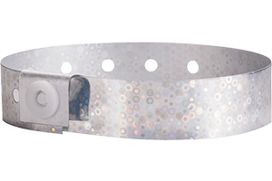 All Plastic Holograhic Wristbands