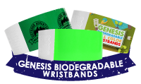 Genesis Biodegradable Wristbands