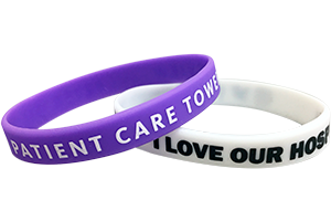 All Custom Silicone 1-Colour Imprint Wristbands