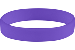 All Silicone Solid Wristbands