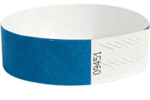 Tyvek® 3/4 inch wristbands