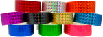 "Adhesive 1"" X 10"" Techno Solid Color wristbands"