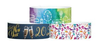 "1"" X 10"" ECO Galaxy Wristband - Dynamic Full Color Patterns"