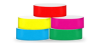 "ECO Galaxy 1"" Solid Color Wristbands"