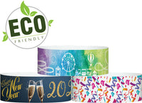 "3/4"" X 10"" ECO Galaxy Wristband, Dynamic Full Color Patterns,  Same Day Print Free Shipping"