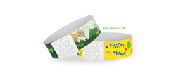 "Custom Eco-Galaxy 1"" x 10"" Full Color Same Day Print Wristbands"