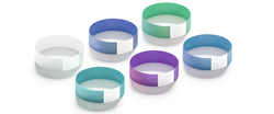 "ECO Galaxy 3/4"" Solid Color Wristbands"