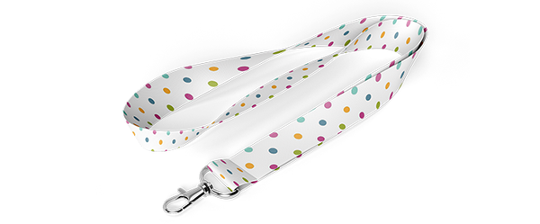 Custom Fabric Lanyard
