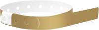 A Soft Comfort L-Shape Snapped Solid Gold wristband