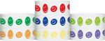 "Tyvek® 1"" X 10"" Happy Face Wristbands"