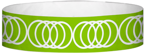 "A Tyvek® 3/4"" X 10"" Coil Neon Lime wristband"