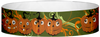 "A Tyvek® 3/4"" X 10"" Happy Pumpkin Wristband"