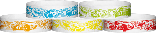 "A Tyvek® 3/4"" X 10"" Race Track Wristbands"