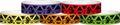 "Tyvek® 3/4"" x 10"" Strike pattern wristbands"