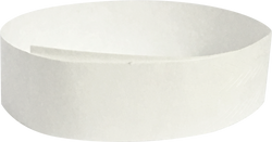"Tyvek® 3/4"" x 10"" Sheeted Special No-Numbering Wristbands"
