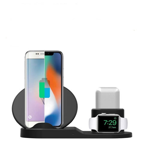 Carregador Apple Watch Séries 4/3/2/1,  iPhone X 8 XS e Android