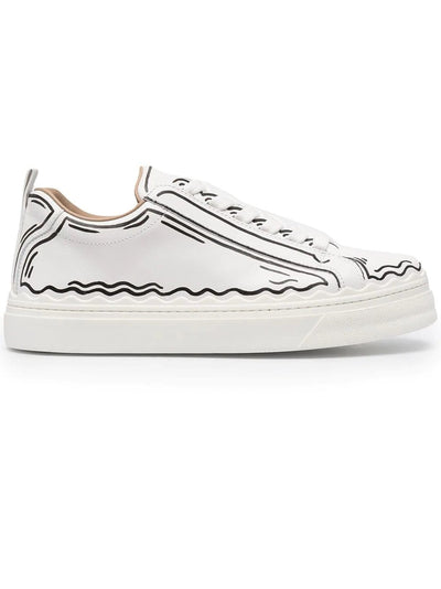 Chloe Sneaker Chloe Lauren Outlined Sneakers