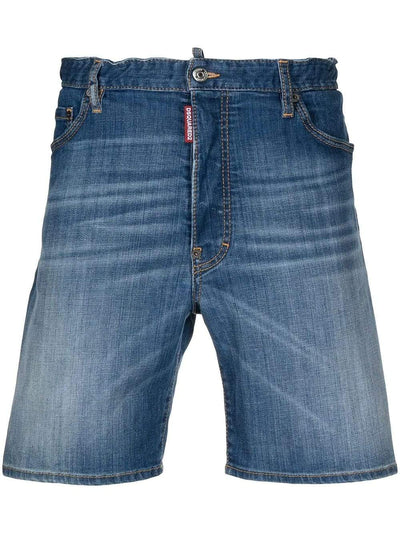 Dsquared2 Shorts Dsquared2 Knee-Length Denim Shorts