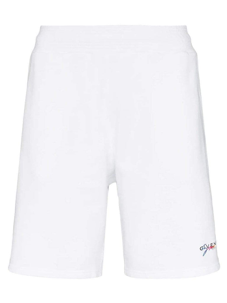 Givenchy Shorts Givenchy Logo Embroidered Track Shorts
